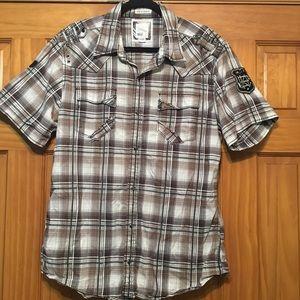Buckle BKE Slim Fit Stretch Shirt XL